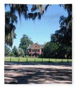 Middleton Plantation Charleston Sc Fleece Blanket