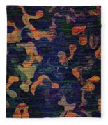 Midnight Canopy  Fleece Blanket