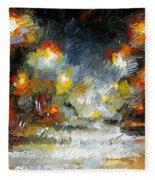 Midnight Storm Fleece Blanket