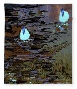 Midnight Swim Fleece Blanket