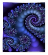 Midnight Symphony Fleece Blanket