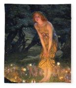 Midsummer Eve Fleece Blanket