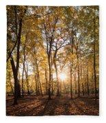 Midwest Forest Fleece Blanket