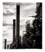 Mighty Bethlehem Steel Fleece Blanket