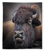 Mighty Bison Fleece Blanket
