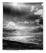 Catching The Light Of A Dream Fleece Blanket