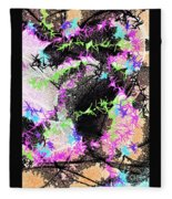 Mighty Mouse - Abstract Fleece Blanket