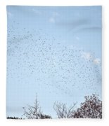Migrating Birds Fleece Blanket