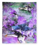 Migration 01 Fleece Blanket