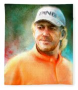 Miguel Angel Jimenez Fleece Blanket