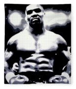 Mike Tyson Fleece Blanket