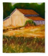 Mike's Barn Fleece Blanket