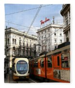 Milan Trolley 4 Fleece Blanket