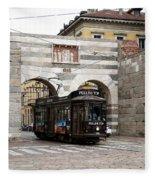 Milan Trolley 5 Fleece Blanket