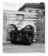 Milan Trolley 5b Fleece Blanket