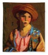 Mildred O Hat Fleece Blanket