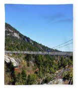 Mile-high Bridge Fleece Blanket
