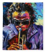 Miles Davis Fleece Blanket