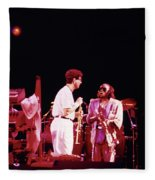 Miles Davis Image 9  With Bob Berg  Fleece Blanket