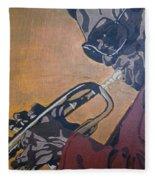 Miles Davis Fleece Blanket
