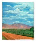 Miles To Go Fleece Blanket