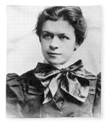 Mileva Maric (1875-1948) Fleece Blanket