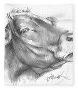 Milk Cow Fleece Blanket