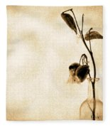Milk Weed In A Bottle Fleece Blanket