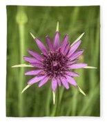 Milkweed Flower Fleece Blanket