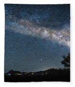 Milky Way 1 Fleece Blanket