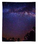 Milky Way Splendor Fleece Blanket