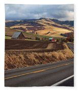 Mill Creek Rd Fleece Blanket