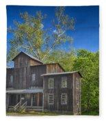 Mill Montauk State Park Mo Dsc02458 Fleece Blanket