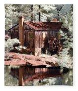 Mill Pond Dreamscape Fleece Blanket