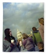 Millenium Bridge Fleece Blanket