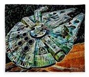 Millenium Falcon Fleece Blanket