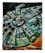 Millenium Falcon Fleece Blanket