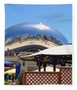 Millenium Park - Slice Of Chicago Fleece Blanket