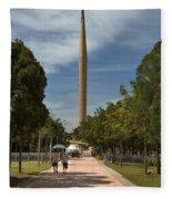 Millennium Monument Fleece Blanket
