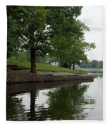 Miller Park Lake Fleece Blanket