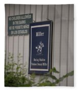 Miller Stable Fleece Blanket