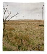 Miller's Moss. Fleece Blanket