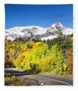 Million Dollar Highway Fleece Blanket