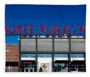 Milwaukee Public Market Fleece Blanket