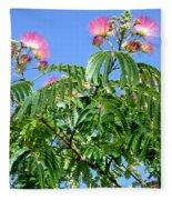 Mimosas In The Sky Fleece Blanket
