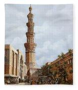 Minareto E Mercato Fleece Blanket