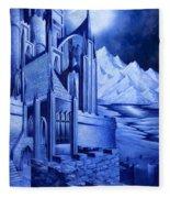 Minas Tirith Fleece Blanket