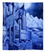 Minas Tirith Fleece Blanket