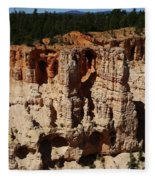 Mind Blowing Bryce Canyon View Fleece Blanket