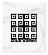 Mind Games 37se Fleece Blanket